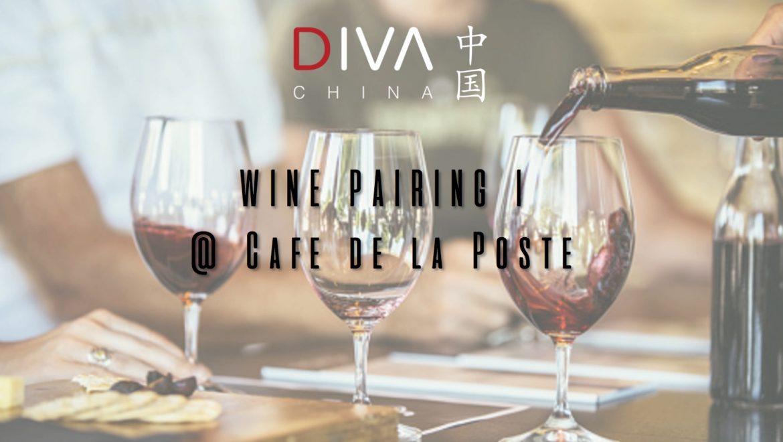 Wine Pairing @Café de la Poste