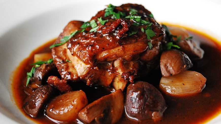 Food Pairing II – Côtes-du-Rhône and Coq au Vin Recipe