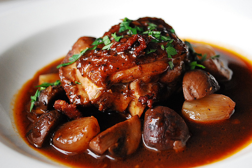 Food Pairing Ii Coq Au Vin And Cotes Du Rhone